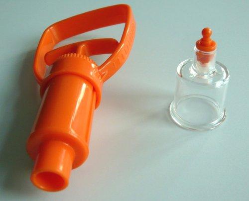 KONMED 2 pcs/lot Emergency First Aid Supplies Venom Protector Snake Bite Venom Extractor Vacuum Pump