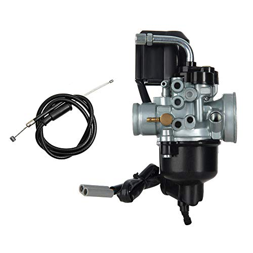 PUCKY Carburetor Phvn PHVA 12 mm Includes E-Choke Minarelli, Aerox, MBK Nitro, Aprilia SR50/SR, Rally 50