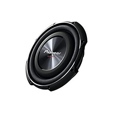 PIONEER TS-SW2502S4 10-Inch, 1.200 Watts Shallow-Mount Subwoofer