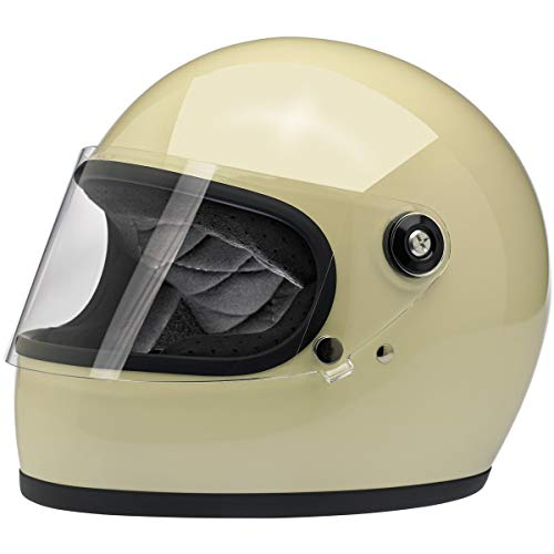 Casco Integral Gringo S biltwell Color Blanco Vintage