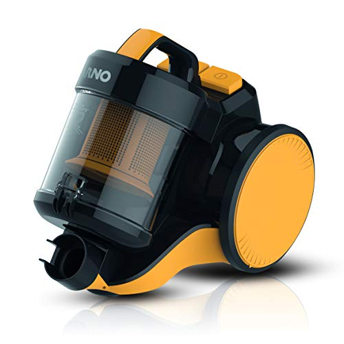 Aspirador de Pó Cyclonic Force Xl Arno Xl Preto/ Amarelo 110V