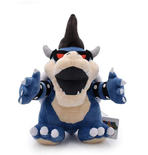 N/T Super Mario 3D Land Bone Kuba Dragon Dark Bowser Plush Toy Bolster Cartoon Plush Soft Stuffed Dolls Dry Bones Koopa 25Cm