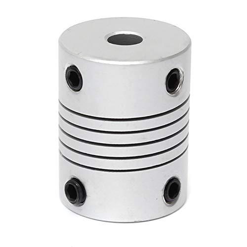 WNJ-TOOL, 1 UNID Durable 5 MMMX8MM Aluminio Eje Flexible Acoplamiento OD19MMXL25MM CNC Stepper Motor Acoplador Conector