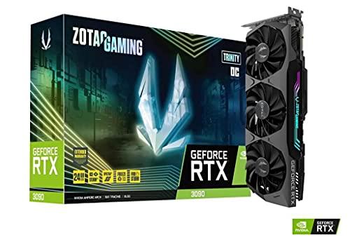 Zotac Gaming GeForce RTX 3090 Trinity OC NVIDIA 24 GB GDDR6X