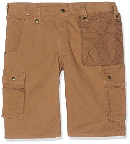 Carhartt .102361.211.S540 Multi Pocket Ripstop Short, Carhartt Brown, W40