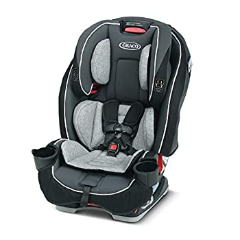 Graco SlimFit 3 in 1 Car Seat -Slim & Comfy Design Saves Space in Your Back Seat Darcie One Size
