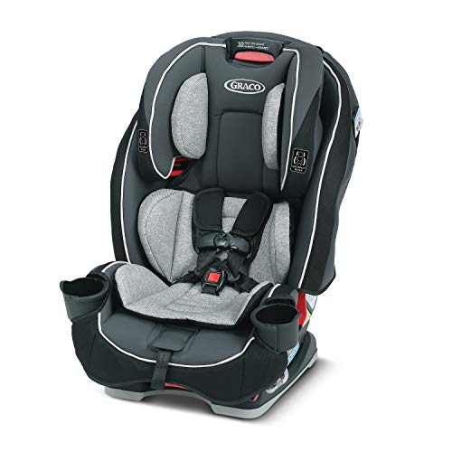 Graco SlimFit 3 in 1 Car Seat -Slim & Comfy Design Saves Space in Your Back Seat, Darcie, One Size