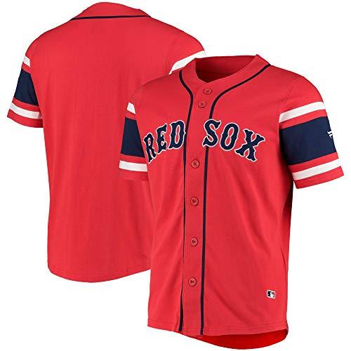 Fanatics Boston Red Sox Mlb Cotton Supporters Jersey L