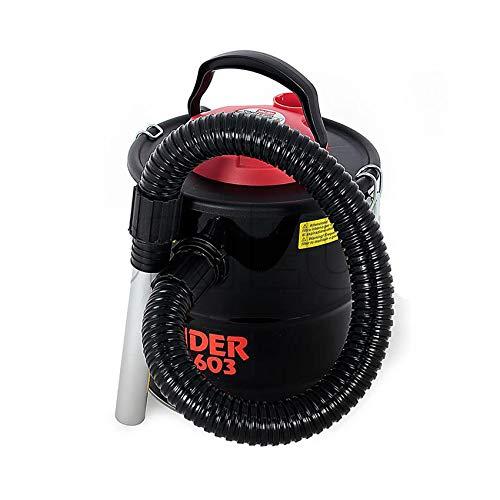 Valex Cinder 603 - Aspirador de cenizas, 11 litros, 800 W, para chimeneas, estufas de pellets, barbacoas