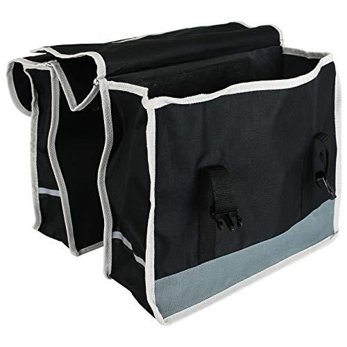 BJYX Doppel Fahrradtasche Satteltasche Gepäckträgertasche Fahrrad Tasche