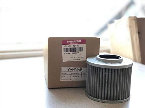 Genuine OEM Yanmar Hydraulic Line Suction Filter #172137-73700!