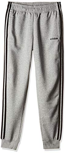 Adidas Essentials Linear Pant Pantaloni, Bambino, Medium Grey Heather/Nero, 9-10A