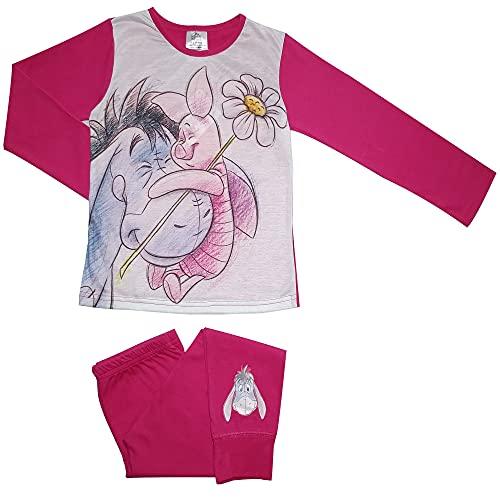 Winnie The Pooh Eeyore & Piglet Mädchen Schlafanzug 4-5 Jahre