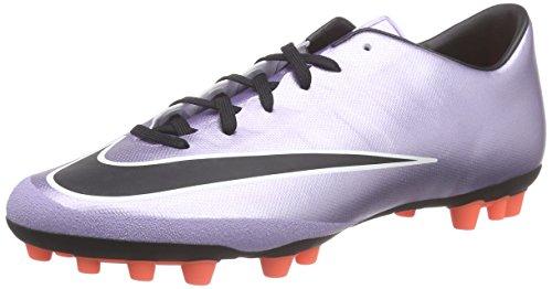 Nike Herren Mercurial Victory V AG-R Fußballschuhe, Silber (Urbn Lilac/Blk-Brght Mng-White 580), 41 EU
