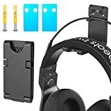 Headphones Universal Wall Mount, Hanger Holder, OIVO Upgraded with Cable Slot & Rotable Design- 1 Pack