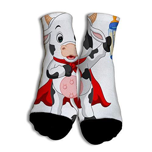 Calcetines Vaca Superhéroe