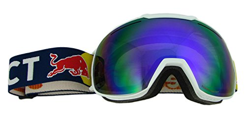 Red Bull Spect Eyewear Skibrille BUCKLER 007 weiß matt/purple snow