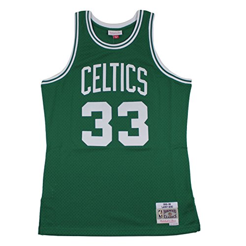 Mitchell & Ness M&N Swingman Jersey Larry Bird Boston Celtics 1985-86 NBA Trikot
