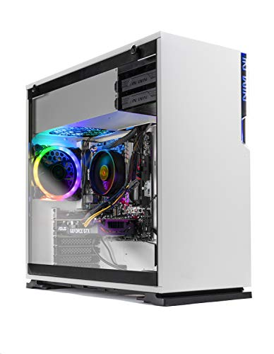 SkyTech Shiva Gaming Computer PC Desktop - Ryzen 5 2600 6-Core 3.4 GHz, NVIDIA GeForce RTX 2060 6G, 500G SSD,...
