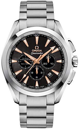 Omega Seamaster Aqua Terra Solid 18k White Gold Men's Watch 231.50.44.50.01.001