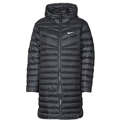 Nike W NSW Wr Lt Wt Dwn Parka Mäntel Damen Schwarz - XL - Daunenjacken Outerwear