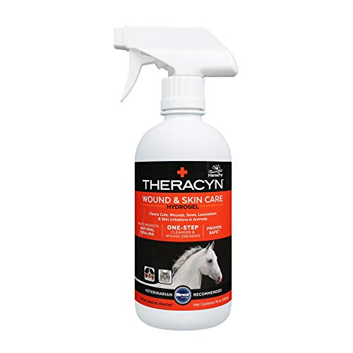 Theracyn Wound and Skin Care Hydrogel | Cleanser and wound dressing | 16 OZ