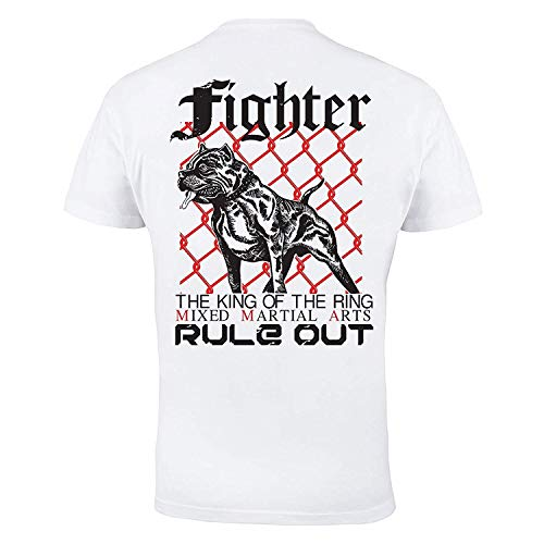 Dirty Ray MMA The King of The Ring t-Shirt Homme K74