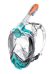 NEW GENERATION | The Seac Liberal represents the evolution of full face snorkeling masks encompassing all the technical features to make the snorkeling experience unforgettable. SAFETY FIRST OF ALL | Like all Seac full face snorkeling masks the Liber...