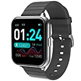 jpantech Smartwatch Orologio Fitness Uomo Donna Impermeabile IP68 Smart Watch Cardiofrequenzimetro...