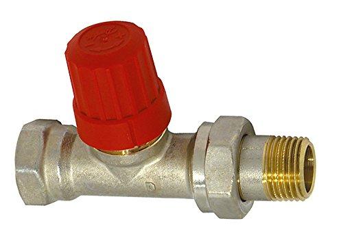 Sanitop-Wingenroth 27195 0 Danfoss Thermostatventil-Unterteil, 3/4 Zoll Durchgangsform