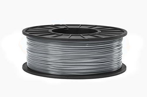 ABS 3D Filament 1.75mm Diameter - Light Gray -1kg