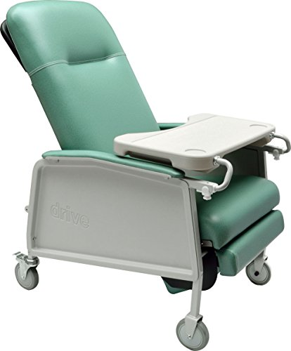 Drive Medical 3 Position Geri Chair Recliner, Jade