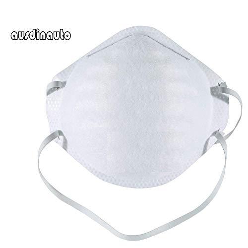 N95 maschera per la protezione delle vie respiratorie FFP2, FFP3, maschera antipolvere, filtro 99% batteri e polvere, anti-appannamento, maschera di sicurezza (5)