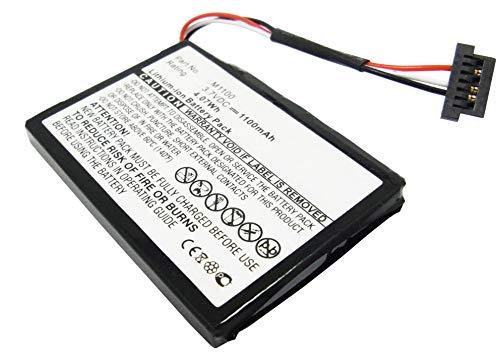 subtel® Qualitäts Akku kompatibel mit Medion Gopal E42xx / MD 97xxx Series/MD 98090, M1100 1100mAh Ersatzakku Batterie