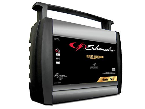 Schumacher SC1357 6/12V Fully Automatic Battery Charger and 6A Maintainer