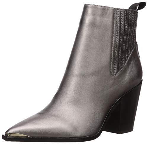Kenneth Cole New York Damen West Side Bootie Rb Uniform Kleid Schuh, Grau (Gunmetal), 37.5 EU