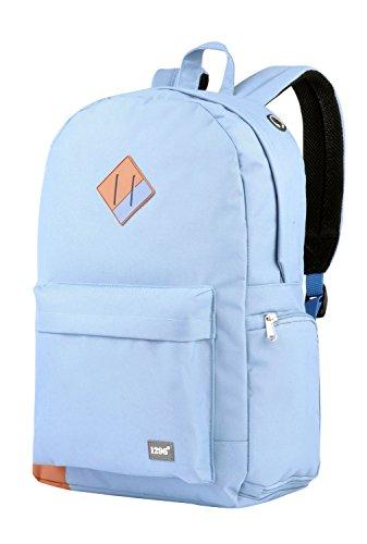 blnbag U4 - Sportrucksack mit Laptop- und Schuhfach, leichter Daypack, City Rucksack für Damen und Herren, Backpack unisex, 19 Liter - Hellblau