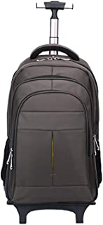 Cooralledtooere Wheeled Laptop Backpack,Waterproof Travel Oxford Cloth Rolling Backpack, Carry-on Luggage,Wheeled Business...