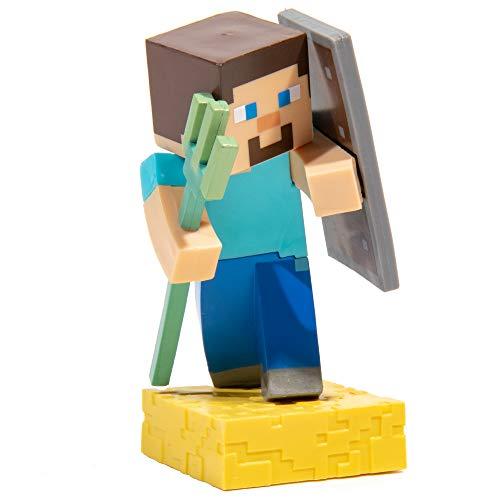JINX Minecraft Adventure Vinyl Figure (Steve with Trident), Series 4