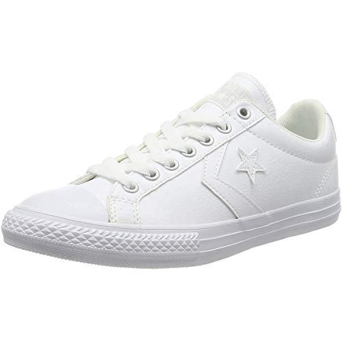 Converse Lifestyle Star Player Ev Ox, Zapatillas Unisex niño, Blanco (White/White/White 100), 37 EU