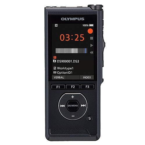 OLYMPUS DS-9000-IT Professional Dictation Recorder, Slide Switch Function Indiana