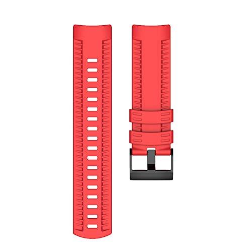 kdjsic Para Suunto- 7/9 Baro Titanio Silicona Reemplazo Correa de Reloj Correa de muñeca Pulsera de Cobre Compatible con Spar