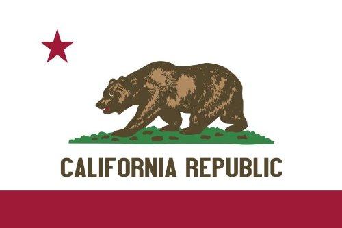 Michael & Rene Pflüger Barmstedt 8,4 x 5,4 cm Autoaufkleber Kalifornien California USA Aufkleber Sticker fürs Auto Motorrad Outdoor wasserfest