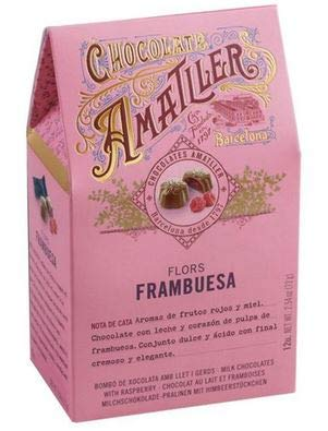 Amatller - Flores Himbeere 72g