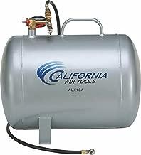 California Air Tools CAT-AUX10A Lightweight Portable Aluminum Air Tank, 10 Gallon, Silver