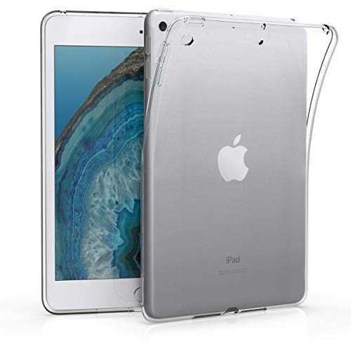 kwmobile Hülle kompatibel mit Apple iPad Mini 5 (2019) - Silikon Tablet Cover Case Schutzhülle Transparent