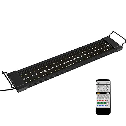 classement un comparer Éclairage LED pour aquarium NICREW RGB Plus, automatisation de l'éclairage télécommandé 24/7…