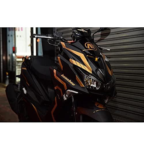Etiquetas engomadas decorativas de la motocicleta Para Y-amaha Force 155 Etiqueta Engomada Del Emblema De La Motocicleta Calcomanía Del Cuerpo Kits Completos Etiqueta De Decoración