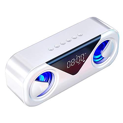 LXLTLB Barra de Barra de Sonido Bluetooth Altavoz Exterior Sonido Envolvente 360...