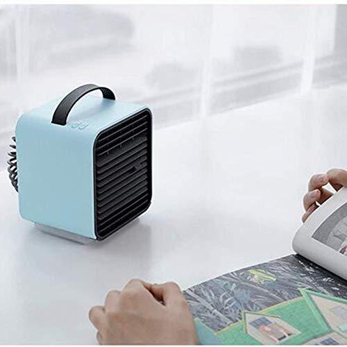 Mini Enfriador de Aire portátil, acondicionador de Aire, humidificador purificador de Aire, Ventilador de refrigeración, purificador de Aire para Oficina en casa